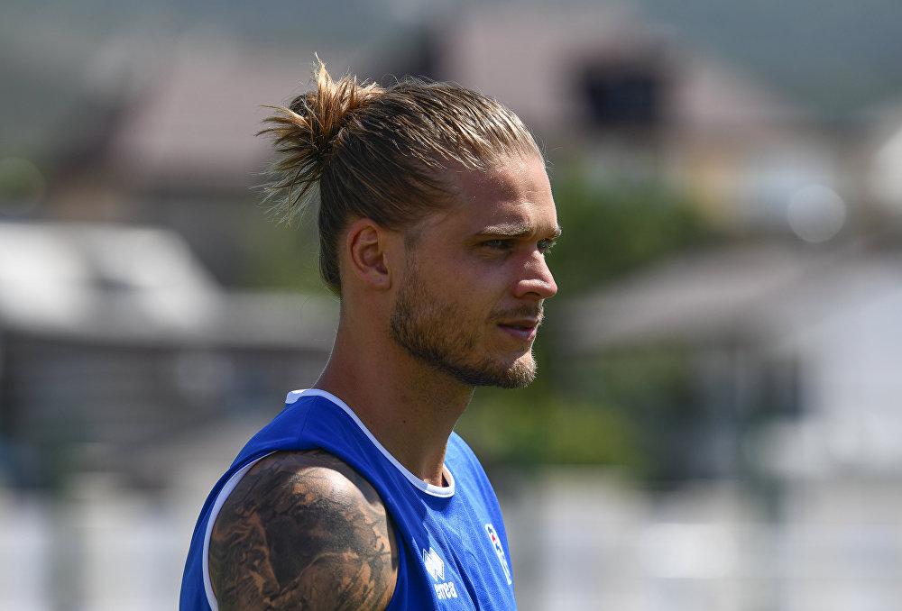 Rurik Gíslason, futbolista islandés