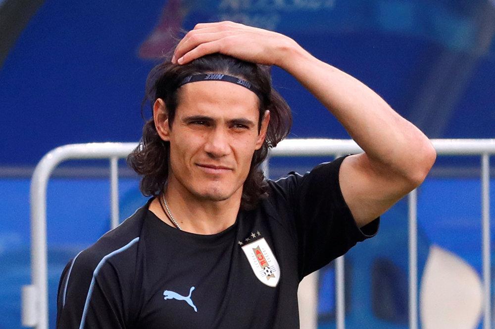 Edison Cavani, futbolista uruguayo