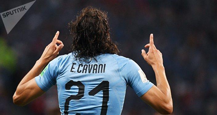 Edinson Cavani, futbolista uruguayo