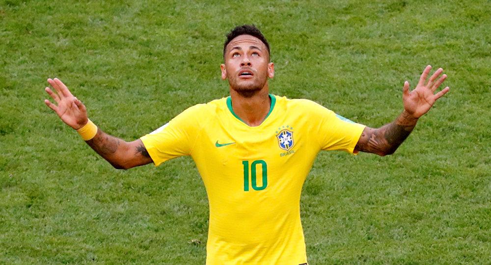 Neymar, jugador brasileño