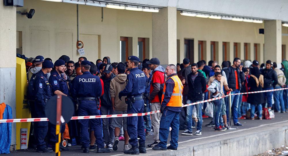 Migrantes en Austria