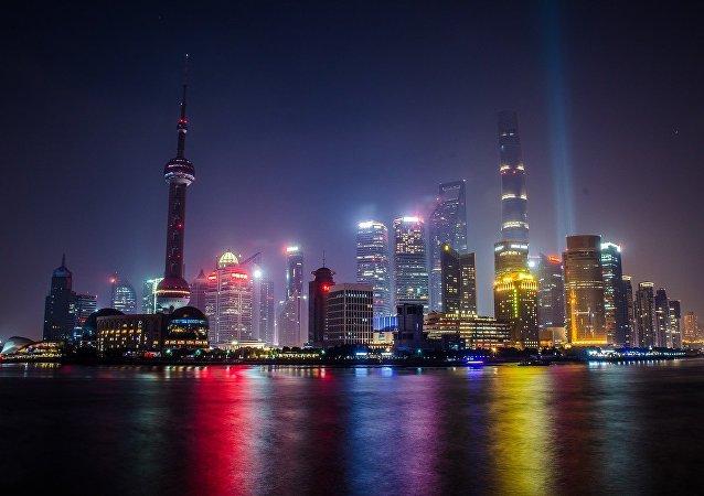 La ciudad de Shanghai (China)