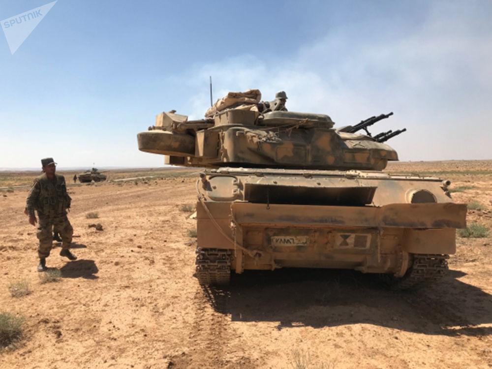 El Ejército sirio logra llegar a las fronteras de Jordania