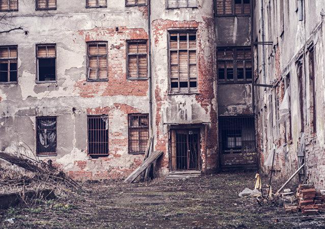 Un barrio en Kaunas, Lituania