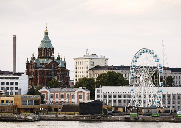 Helsinki, la capital de Finlandia