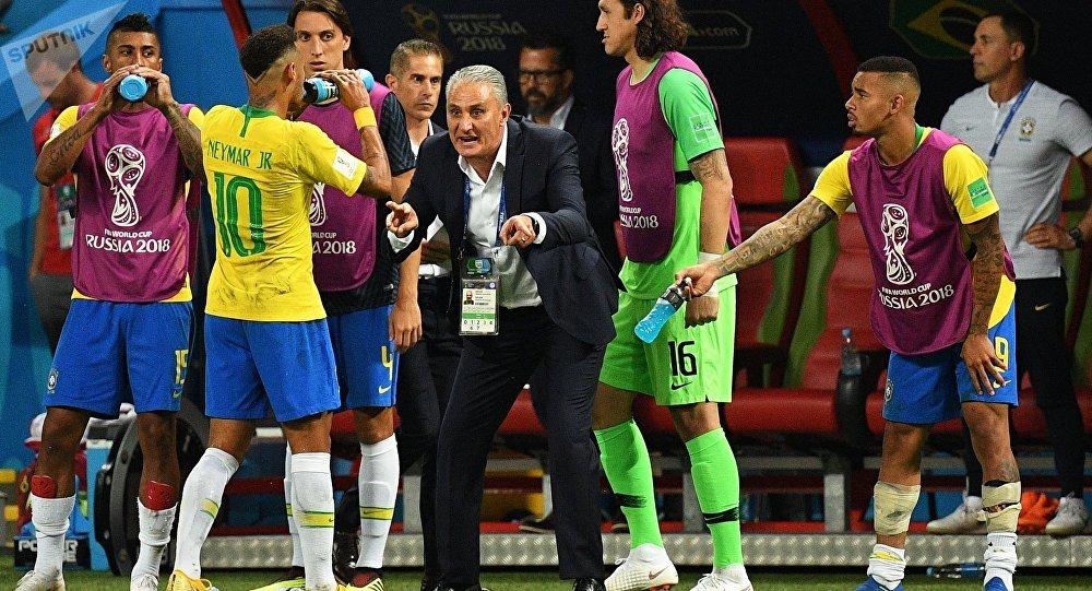 Tite, entrenador de la selección de fútbol de Brasil
