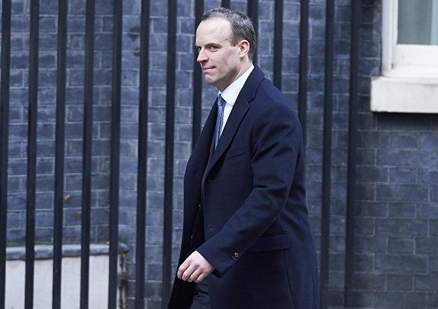 Dominic Raab, nuevo ministro británico del Brexit