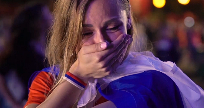 Lágrimas de esperanza: así reaccionan los hinchas al adiós de Rusia del Mundial