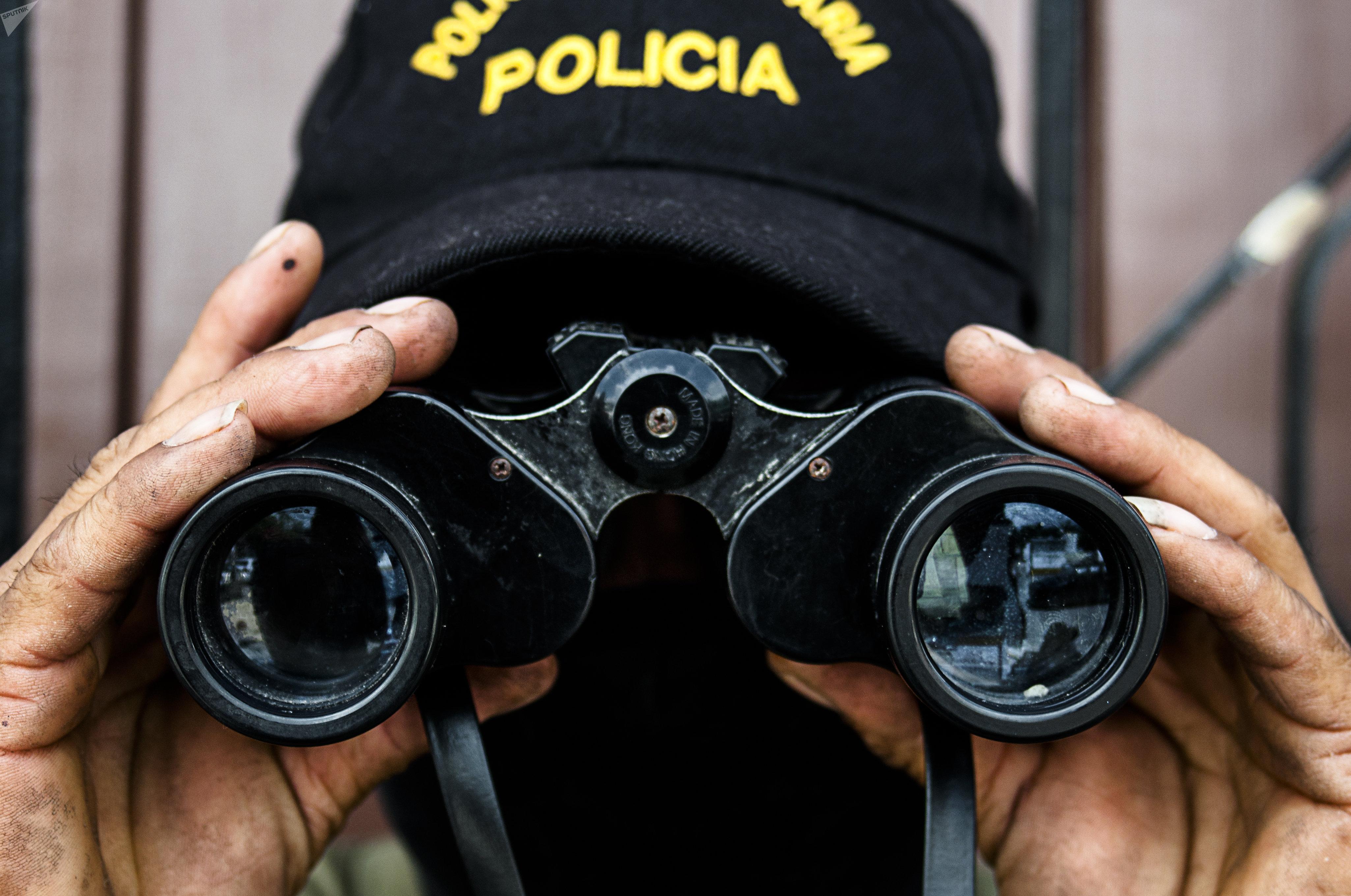 Policía Comunitaria de Olinalá, estado de Guerrero, México