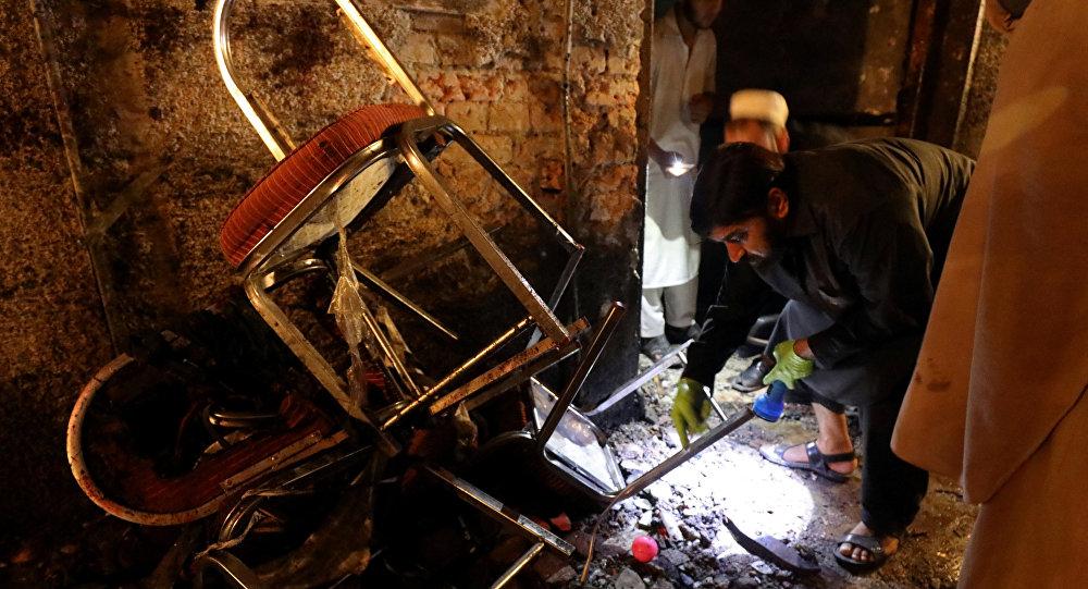 Un ataque terrorista en la ciudad pakistaní de Peshawar