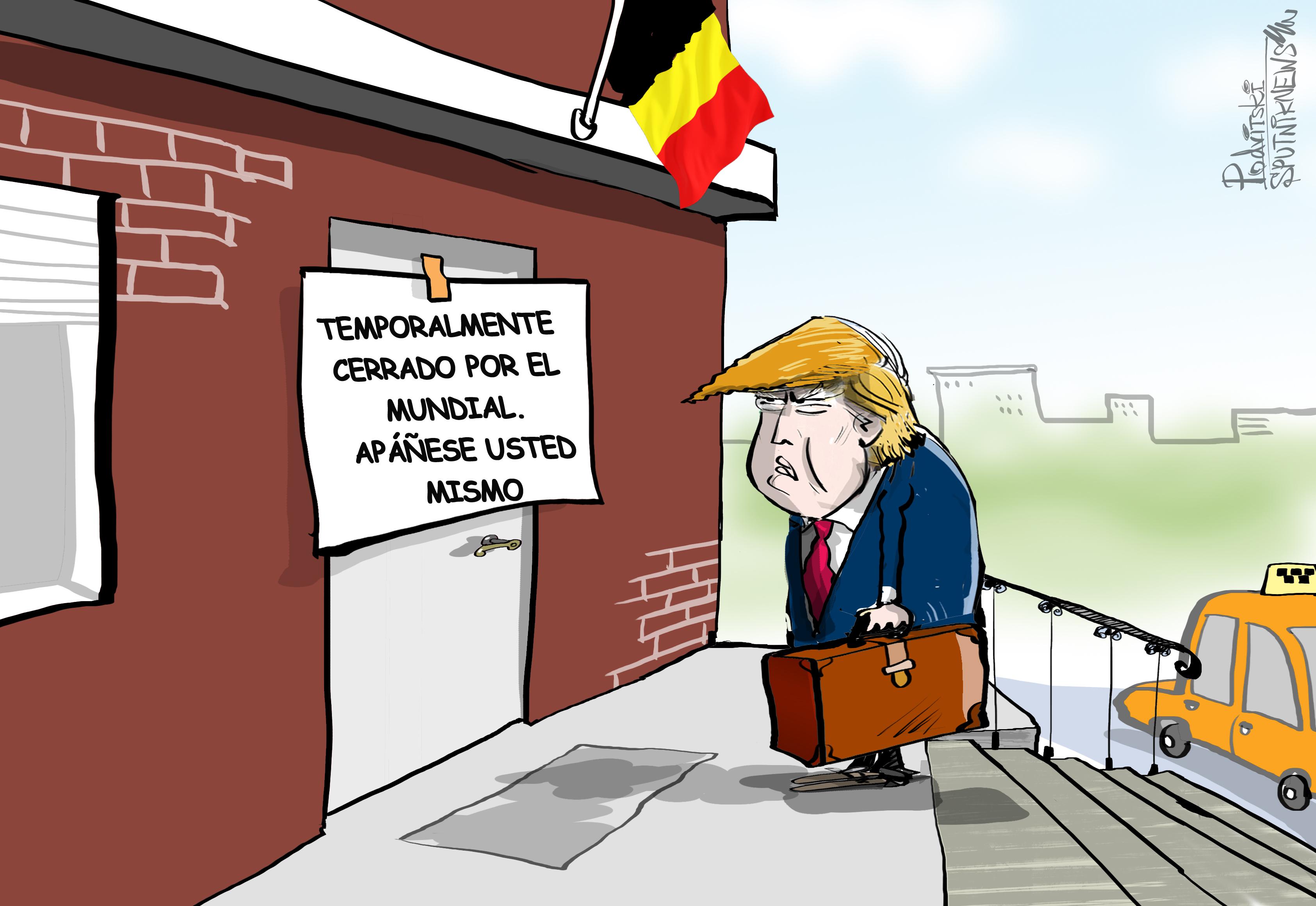 Todos se marcharon a Rusia: Trump recibe una 'calurosa bienvenida' en Bruselas