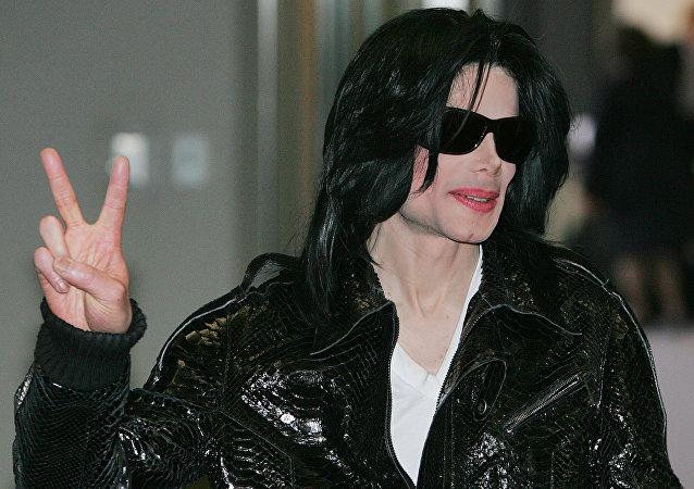 Michael Jackson, foto de archivo