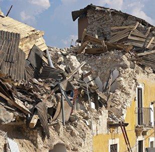 Edificios destruidos por terremoto (imagen referencial)