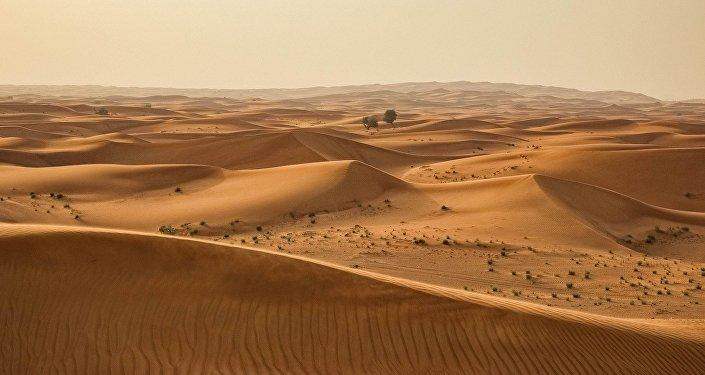 Un desierto (archivo)