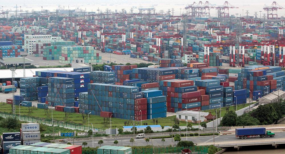 Puerto de Shanghai (Archivo)