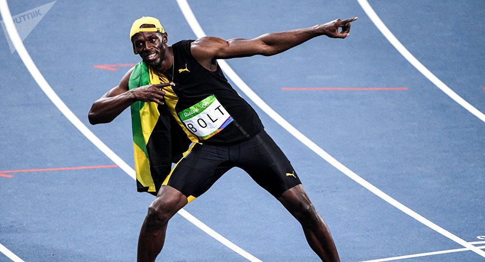 Usain Bolt, corredor de Jamaica