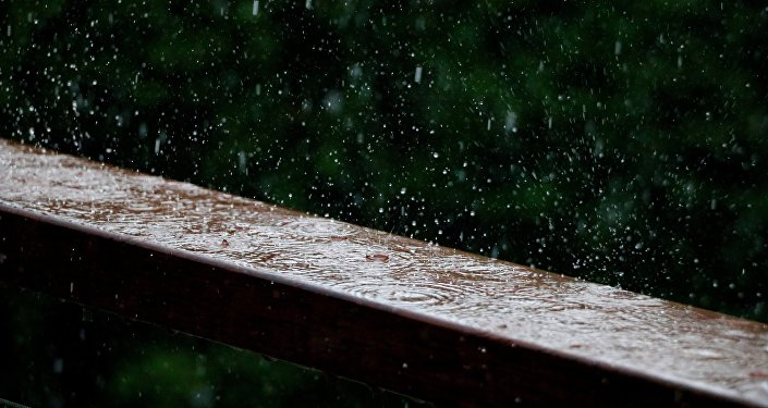 Lluvia (imagen referencial)