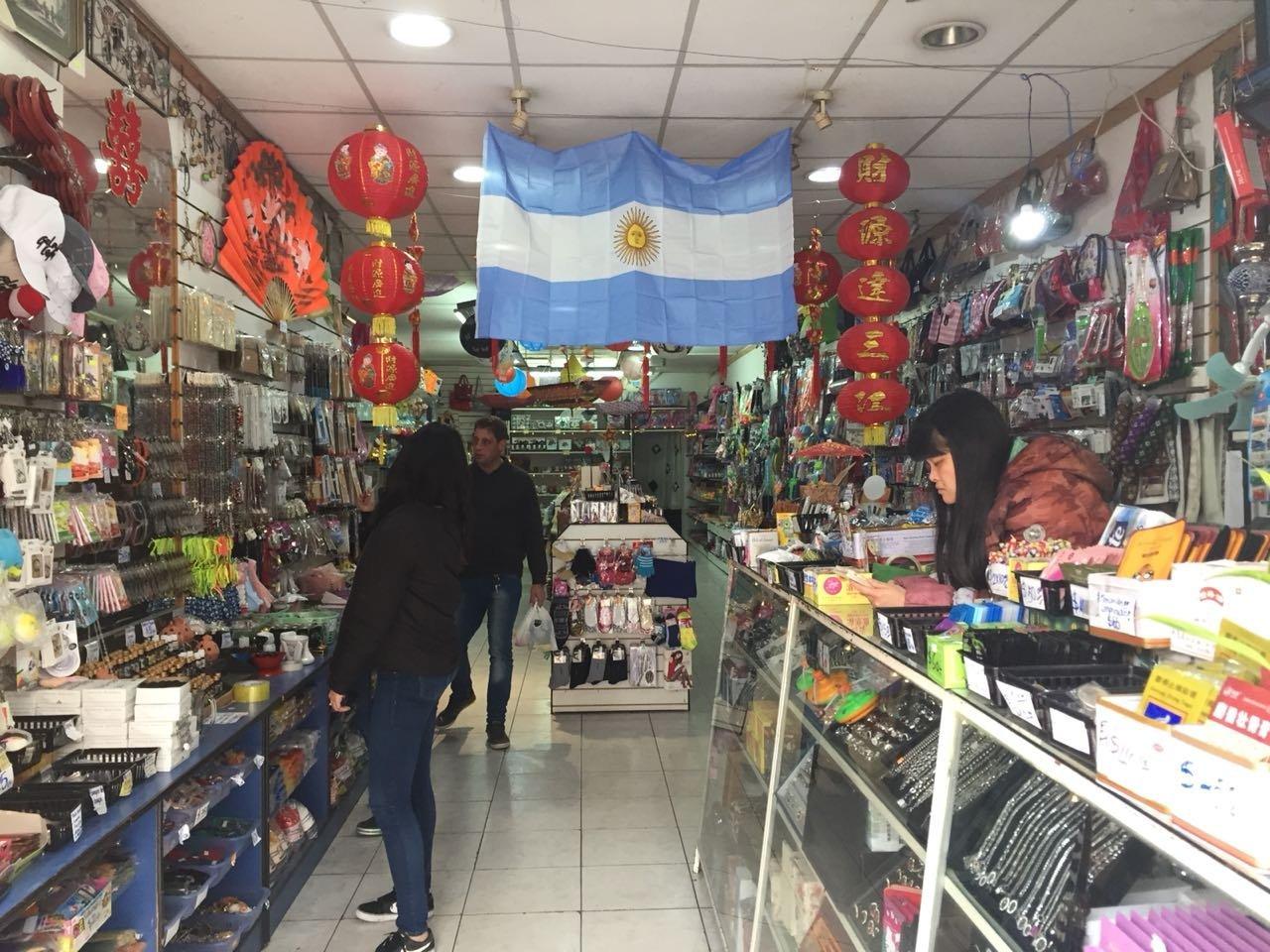 Tienda en el Barrio Chino de Buenos Aires, Argentina