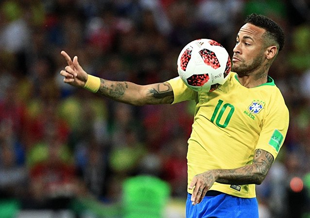 Neymar, futbolista brasileño (archivo)