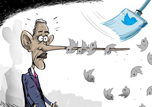 Los seguidores fantasma de los presidentes de EEUU