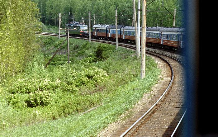 El transiberiano a su paso por Irkutsk