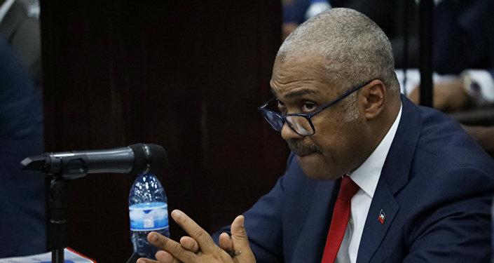 Jack Guy Lafontant, primer ministro de Haití