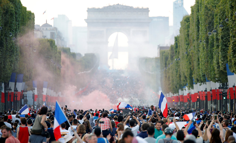 Francia y Croacia se enfrentan en la final del Mundial de Rusia