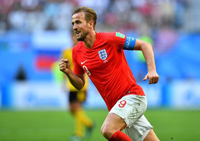 Harry Kane, delantero de la selección inglesa