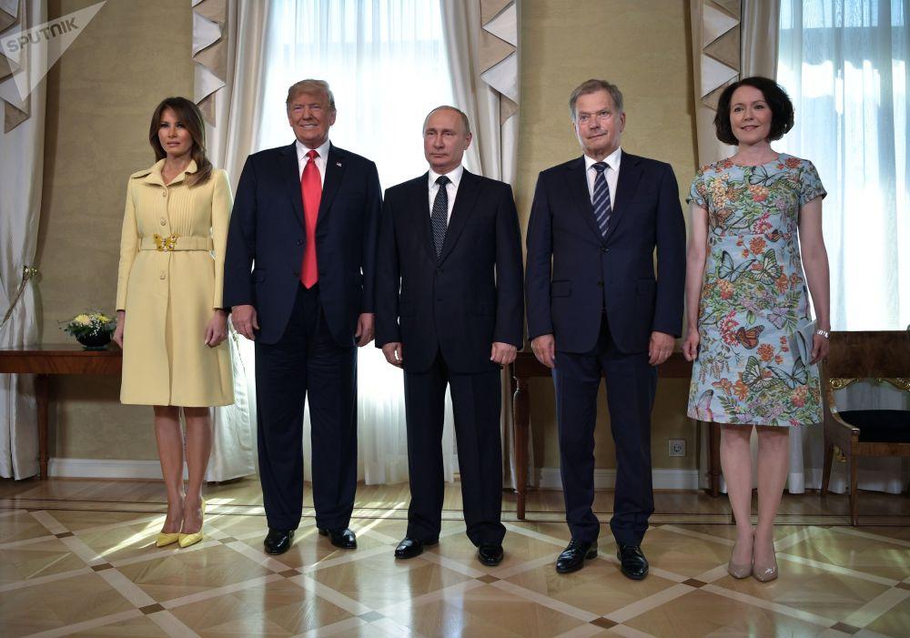 Primeras imágenes de una reunión histórica