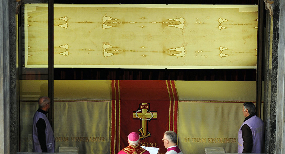 Estudio señala que sangre de sábana santa es falsa