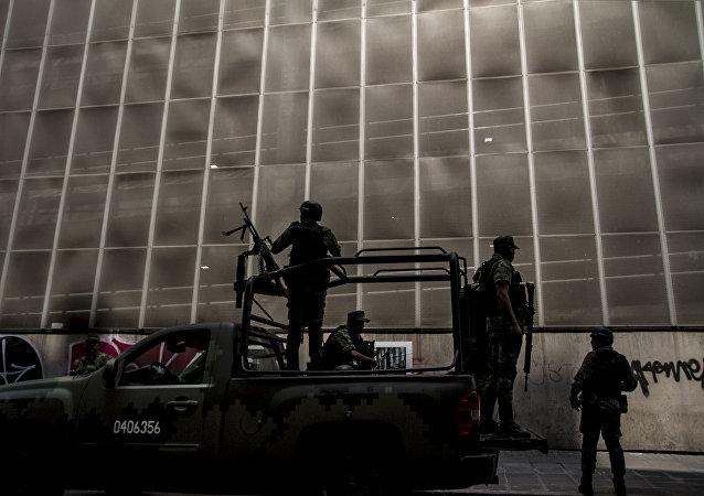 Operativo militar durante la visita de Mike Pompeo y de la delegación de EEUU a  México
