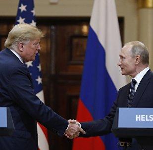 La reunión entre el presidente de Estados Unidos, Donald Trump, y el presidente de Rusia, Vladímir Putin