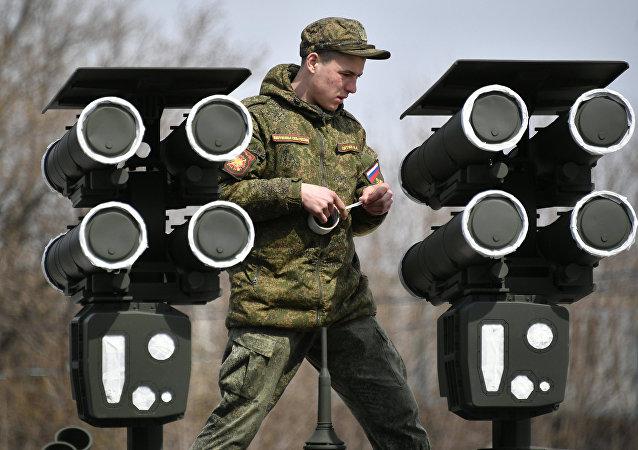 Sistema de misiles Kornet-D, imagen archivo
