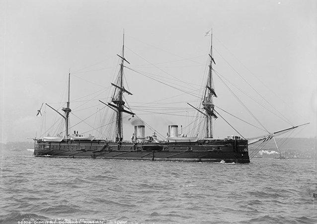 El crucero ruso Dmitri Donskói (archivo)