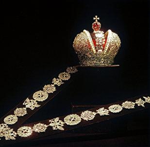 Corona imperial de Rusia