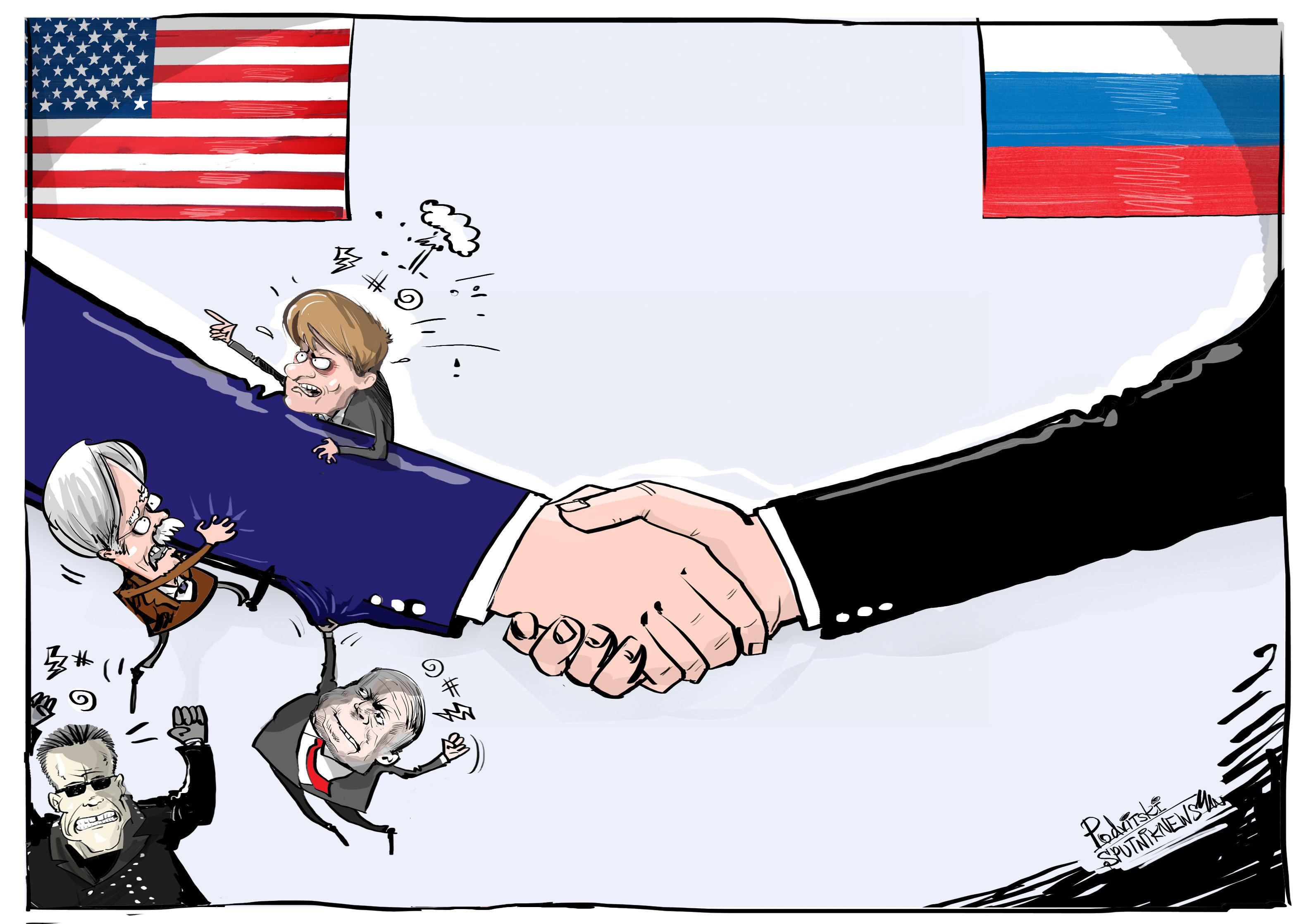 Recaída de la humillación en EEUU tras el encuentro de Putin y Trump