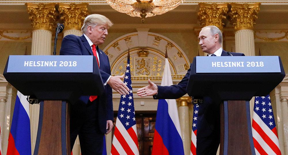 La reunión entre el presidente de Estados Unidos, Donald Trump, y el líder ruso, Vladímir Putin