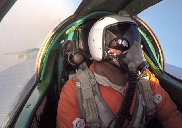 Un piloto ruso