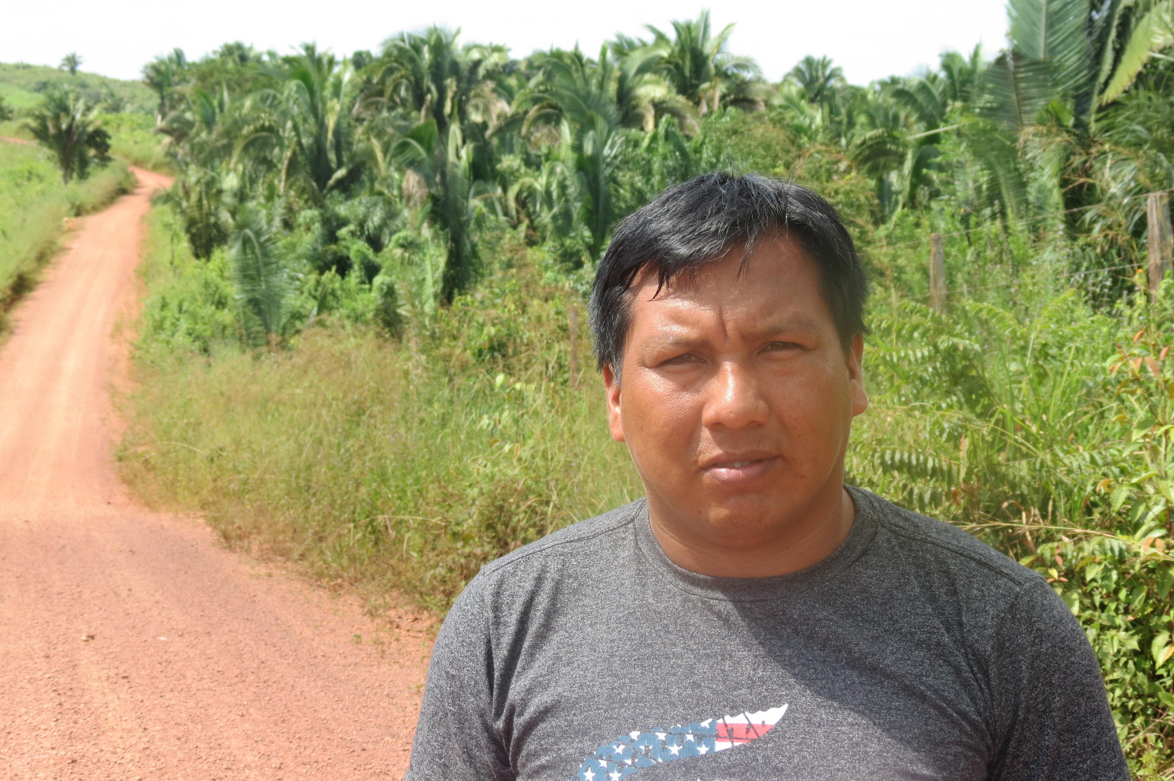Itahú Ka'apor, miembro del Consejo de Gestión