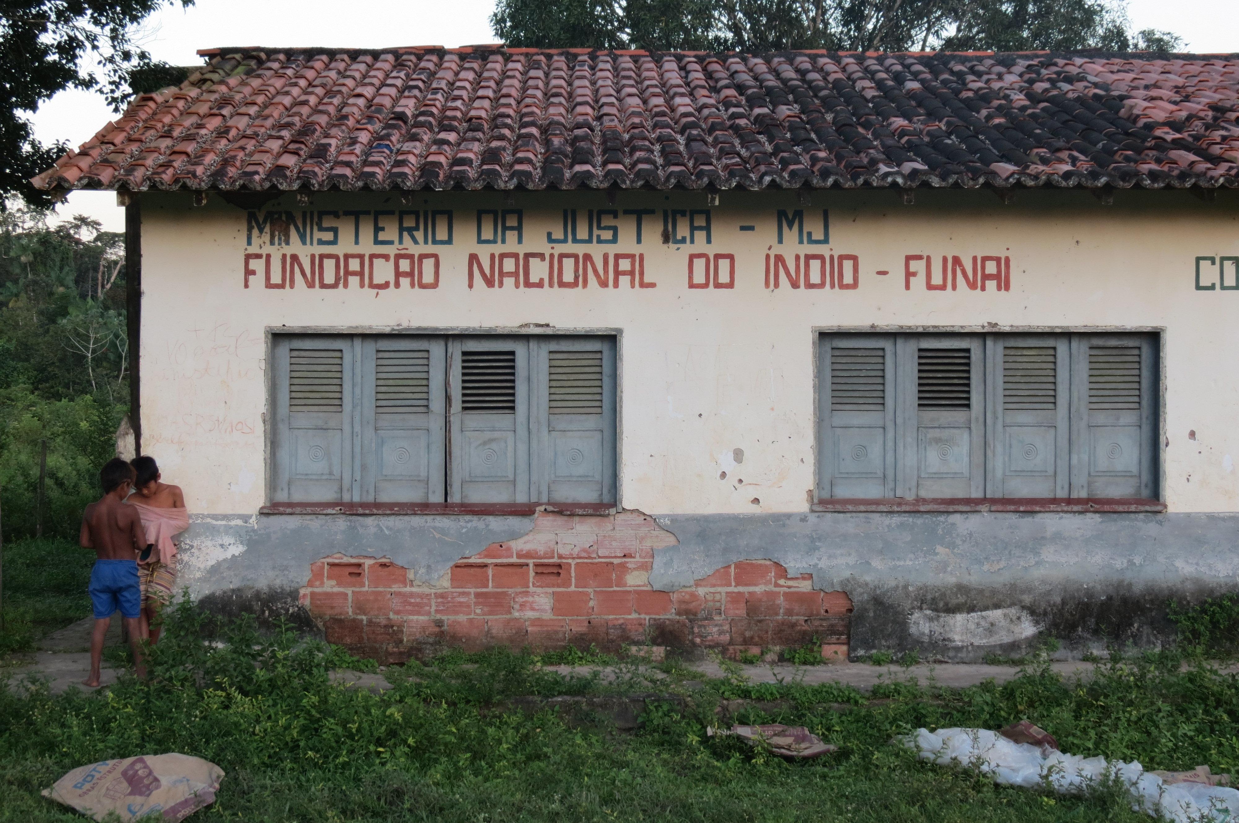 El edificio de la Fundación Nacional del Indio