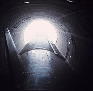 Misil balístico intercontinental en un silo