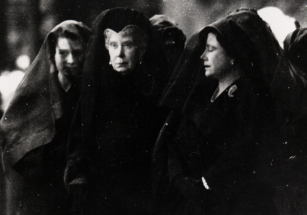 El funeral de Jorge VI