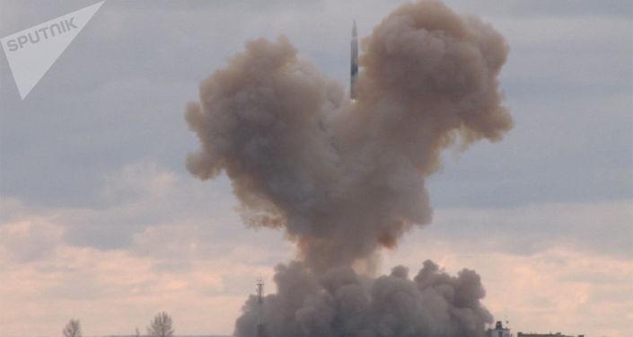 Lanzamiento del misil Avangard