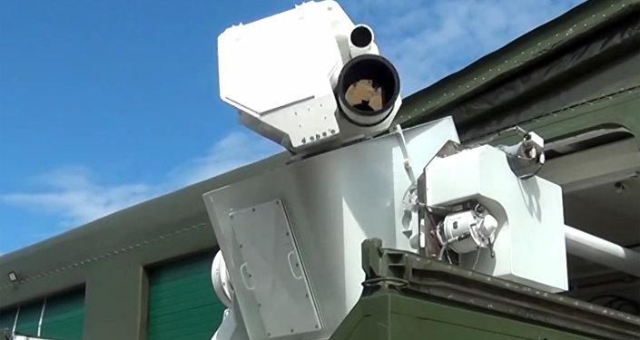 Peresvet, sistema láser de combate móvil