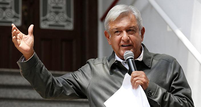 Andrés Manuel López Obrador presidente electo de México