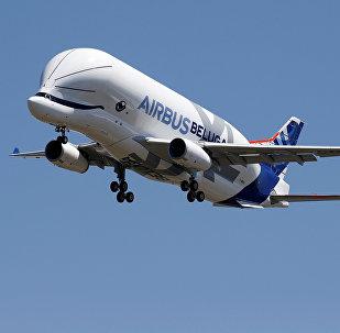Un avión Airbus A330-700, conocido como Beluga XL