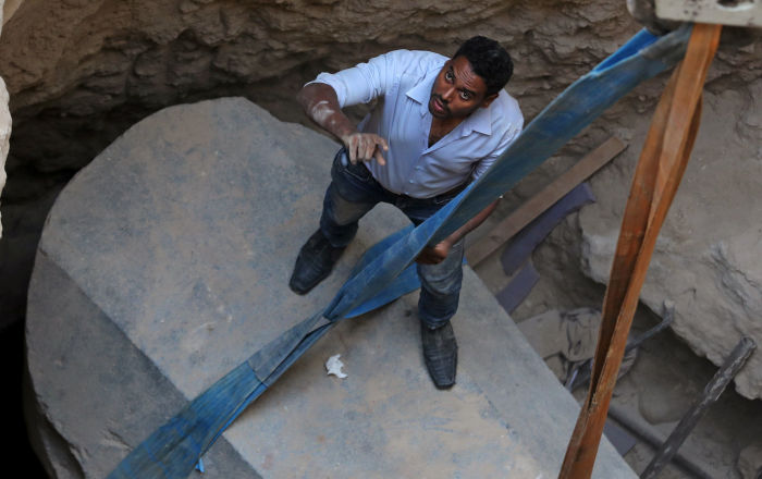 Este es el misterio que escondía el sarcófago negro desenterrado en Egipto