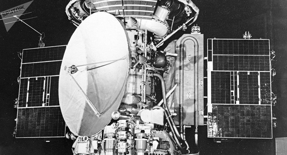 Sonda interplanetaria Mars-3, imagen referencial