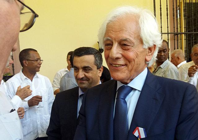 Moshen Bilal, miembro del Comando Regional del Partido Baaz Árabe Socialista