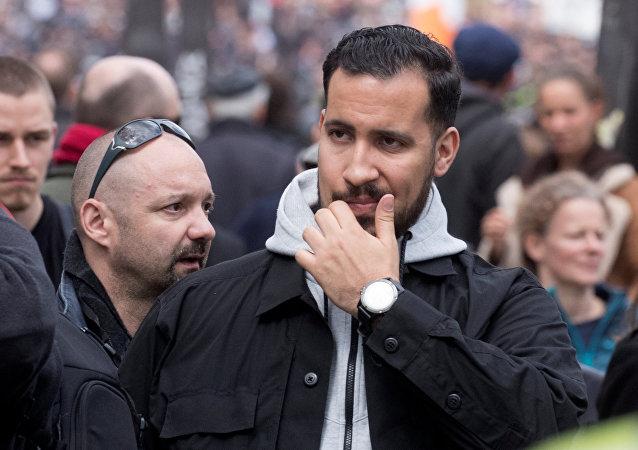 Alexandre Benalla, guardaespaldas del presidente francés Emmanuel Macron